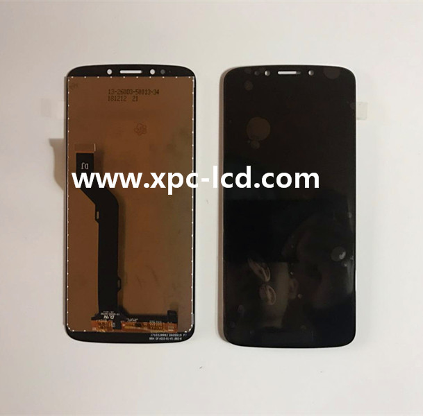 Wholesale price Motorola E5plus LCD screen with touch Black